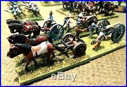 American Civil War, 15mm Miniatures, Confederate Brigade