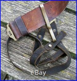 American Civil War CSA Confederate Belt And Buckle ORIGINAL