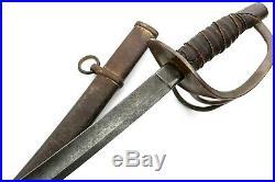 American Civil War era Confederate Cavalry Sword with Captured US 1865 Ames Co