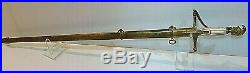 American Mexican War CIVIL War Horstmann Confederate Officer Sword Ca 1845-50