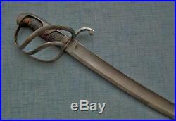 Antique American Civil War Cavalry Sword Confederate