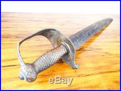 Antique American Civil War Sword Confederate Cutlass Thomas Griswold N O 1861