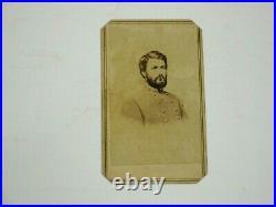 Antique CDV Civil War CSA Confederate General G. W. C. Lee, Robert E Lee's son