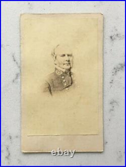 Antique CDV Photograph Confederate General Sterling Price Anthony CIVIL War