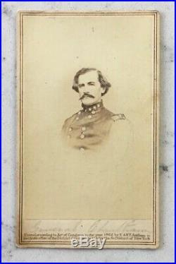 Antique CIVIL War CDV Photograph Confederate General Benjamin F. Cheatham Csa