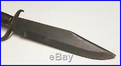 Antique CIVIL War Confederate D Guard Bowie Knife Rare