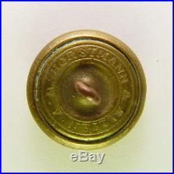 Antique Civil War Confederate South Carolina State Seal Button Horstmann Undug