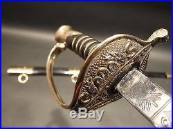 Antique Style Fayetteville Armory Civil War Officers Confederate CS Sword