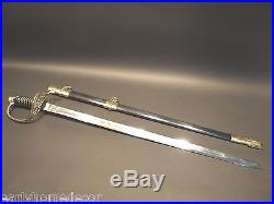 Antique Style W. J. McElroy Civil War Officers Confederate CS Sword