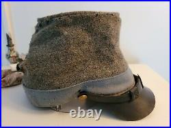 Authentic Confederate Civil War Kepi Cap Size Large