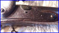 Authentic Confederate Civil War Musket Nonworking Wall Hanger