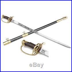 Authentic Replica Civil War CSA Confederate Cavalry Officer's Sword & Scabbard