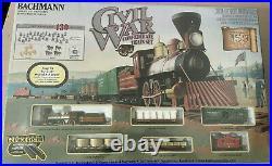 BACHMANN HO Civil War Train Sets Union & Confederate