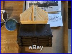 BARZSO Play Set CONFEDERATE CIVIL WAR CAMP Set. Circa 2001. Mint But NO Box