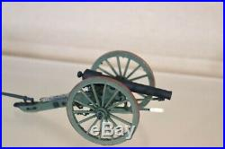 BRITAINS 17669AMERICAN CIVIL WAR VALLEY SERIES CONFEDERATE ARTILLERY SET 1 nv