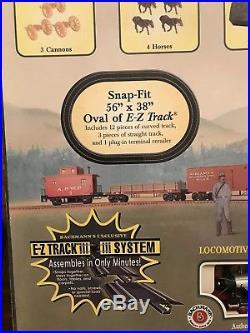 Bachmann Civil War Confederate Train Set #00630 HO Scale New Open Box