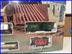 Bachmann Civil War Confederate Train Set #00709 (FACTORY SEALED)150th Anniv. Set