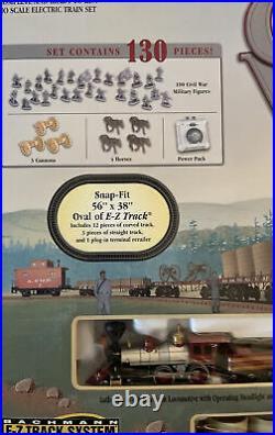 Bachmann Civil War Confederate Train Set 150th Anniversary Edition HO Scale