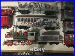 Bachmann HO SCALE Hawthorne Village Civil War Confederate Train Loco & 10 Cars