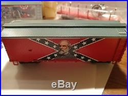 Bachmann hawthorne village Civil War Confederate Express Train Set HO Scale 6