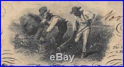 Beautiful Authentic 1862 CIVIL War $100 Dollar Csa Confederate Note T-41