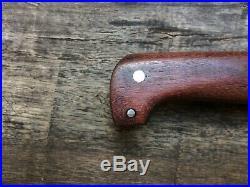 Big Custom Handmade Confederate CIVIL War Gaucho Classical Hunter Bowie Edc