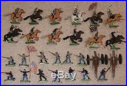 Britain's deetail soldiers 17553 Fort union confederate figures civil war timpo