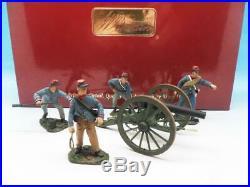 Britains American CIVIL War Confederate Artillery Set #1 Gun & Crew 17669 54mm