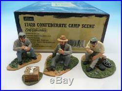 Britains American CIVIL War Confederate Camp Scene 17428 54mm