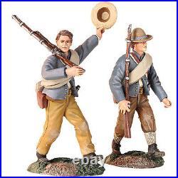 Britains CIVIL War Confederate 31240 Infantry Marching Set Mib