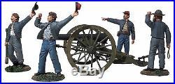 Britains CIVIL War Confederate 31264 Confederate 10lb Parrott Gun Set Mib