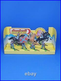 Britains Deetail ACW Civil War Boxed Confederate Mounted & Infantry Ref 7542