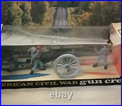 Britains Ltd American Civil War 12 Pounder and Gun Crew 4435 Confederate States