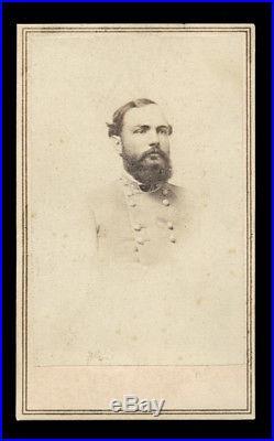 CDV CIVIL War Confederate General W. H. F. Lee Son Of Robert E. Lee's Son