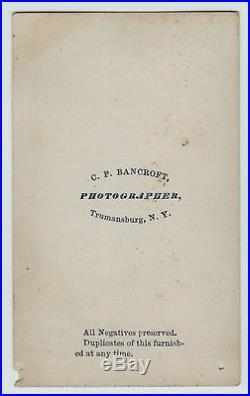 CDV Photo Civil War Confederate Jefferson Davis Last Ditch ca 1860s