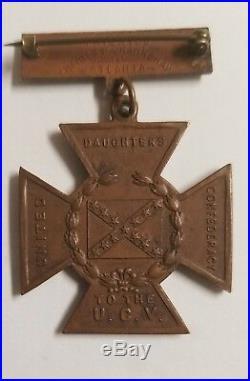 CIVIL War 1861 1865 U. C. V Confederate Southern Cross Of Honor Medal