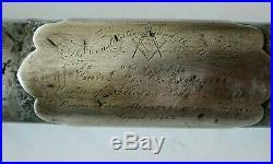 CIVIL War Captured Presentation Sword Captain 19th Michigan Used By Confederate