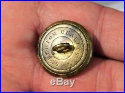 CIVIL War Confederate General Service Button Non Dug Listed In Albert's & Tice