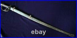 CIVIL War Confederate Kraft Goldschmidt & Kraft Columbia Officer Cavalry Sword