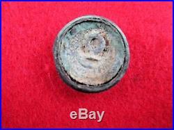 CIVIL War Confederate Mississippi Coat Button Recovered Pine Mnt Ga Gen Polk