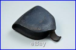 CIVIL War Confederate Percussion Cap Box Single Wide Flap On Back
