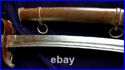 CIVIL War Confederate Rare 3rd Model Virginia Manufactory 22nd Regiment Sword