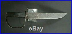 CIVIL War Confederate Rare ID To W. Tilly D Guard Bowie Knife Not Sword C 1861