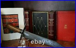 CIVIL War Confederate Rare Large 16 5/8 Bowie Knife Not Sword Ca 1861