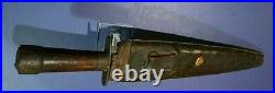 CIVIL War Confederate Rare Large 18 1/4 Inch Bowie Knife Not Sword Ca 1861