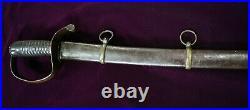 CIVIL War Confederate Sharp & Hamilton Cavalry Sword One Of Ten In Existance