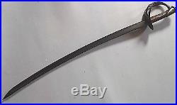 CIVIL War Confederate William Glaze M 1840 Palmetto Armory Cavalry Sword Rare