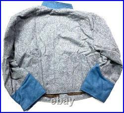CIVIL War Cs Csa Confederate Wool Infantry Shell Jacket- Size 2 (38-40r)