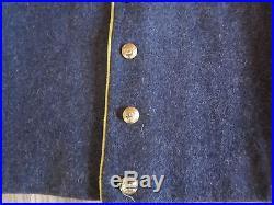 CIVIL War Csa Confederate Cavalry Shell Jacket- Large