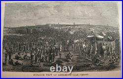 CIVIL War Prison Torture 1869 Confederate Rebel South Andersonville Slavery Old